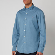 Polo Ralph Lauren Men's Long Sleeve Sport Shirt - Camp Blue