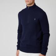 Polo Ralph Lauren Men's Cashmere Jumper - Hunter Navy
