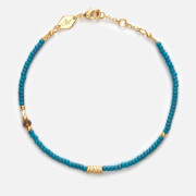 Anni Lu Women's Wave Chaser Bracelet - Blue Fog
