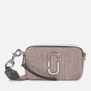 Marc Jacobs Women's Snapshot Glitter Bag - Pink