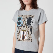 See by Chloe Women's Logo T-Shirt - Drizzle Grey