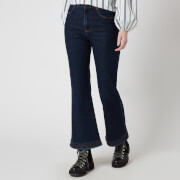 See by Chloe Women's Kickflare Jeans - Denim Blue