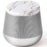 Lexon Miami Sound Bluetooth Speaker - White Marble