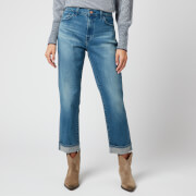 J Brand Women's Tate Boy Fit Jeans - Sorority Raze