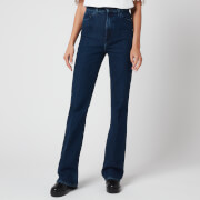 J Brand Women's Runway High Rise Boot Jeans - Experience