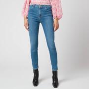 J Brand Women's Alana High Rise Crop Skinny Jeans - Pioneer