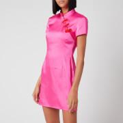 De La Vali Women's Suki Dress - Hot Pink