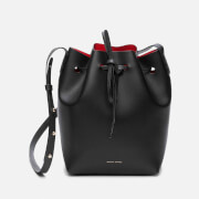Mansur Gavriel Women's Mini Bucket Bag - Black/Flamma