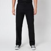 YMC Men's Washed Wool Flannel Padre Trousers - Black