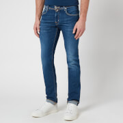 Jacob Cohen Men's J622 Brown Badge Limited Edition Jeans - Blue