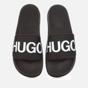 HUGO Men's Match Slide Sandals - Black