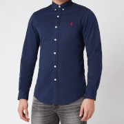 Polo Ralph Lauren Men's Slim Fit Chino Shirt - Cruise Navy