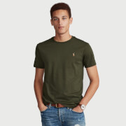 Polo Ralph Lauren Men's Custom Slim Interlock T-Shirt - Estate Olive