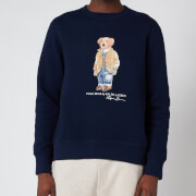 Polo Ralph Lauren Men's Magic Fleece Polo Bear Sweatshirt - Cruise Navy