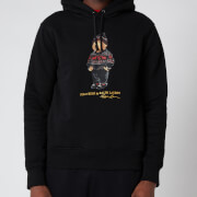 Polo Ralph Lauren Men's Magic Fleece Polo Bear Hoodie - Polo Black