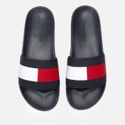 Tommy Hilfiger Men's Essential Flag Pool Slide Sandals - Desert Sky