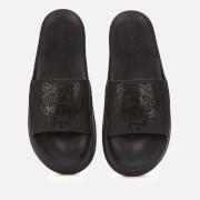 KENZO Men's Tiger Pool Slide Sandals - Black