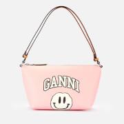 Ganni Women's Smiley Print Bag - Pale Lilac