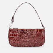 by FAR Women's Rachel Croco Bag - Nutella