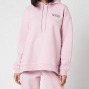 Ganni Women's Software Isoli Hooded Sweatshirt - Sweet Lilac