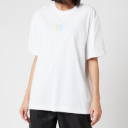Alexander Wang Women's Short Sleeve T-Shirt with Ombre Puff Print - White