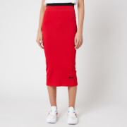 Reebok X Victoria Beckham Women's RBK VB Seamless Skirt - Scarlet