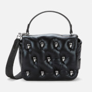 Karl Lagerfeld Women's K/Ikonik 3D Multi Pin Flap Bag - Black