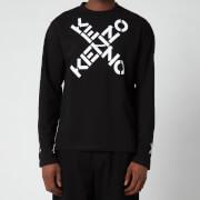 KENZO Men's Sport Long Sleeve T-Shirt - Black