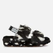 UGG Women's Oh Yeah Spots Slippers - Black