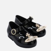 Mini Melissa Toddlers' Mini VW Sweet Love Ballet Flats - Black Orb