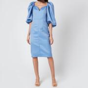 ROTATE Birger Christensen Women's Irina Dress - Majolica Blue