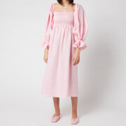 Sleeper Women's Atlanta Linen Dress - Pink