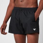 Emporio Armani Men's Essential Swim Shorts - Black