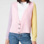 Olivia Rubin Women's Tally Cropped Cardigan - Colourblock