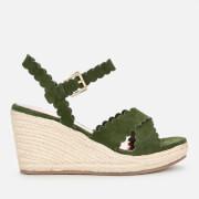 Ted Baker Women's Selanas Wedged Sandals - Khaki