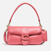 Coach Women's Leather Covered C Closure Pillow Tabby Shoulder Bag 26 - Taffy