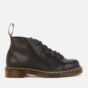 Dr. Martens Church Smooth Leather Monkey Boots - Black