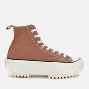 Converse Women's Tonal Marble Run Star Hike Trainers - Rose Taupe/White/Egret