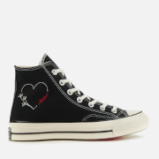 Converse Chuck 70 Love Thread Hi-Top Trainers - Black/Egret/Black