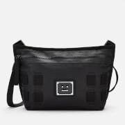Acne Studios Men's Plaque Face Cross Body Bag - Black