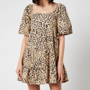 Faithful The Brand Women's Eryn Mini Dress - Shamari Animal Print