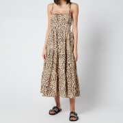 Faithful The Brand Women's Alexia Midi Dress - Shamari Animal Print