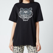 KENZO Women's Gradient Tiger Oversize T-Shirt - Black