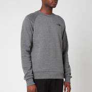 The North Face Men's Raglan Redbox Sweatshirt - TNF Medium Grey Heather
