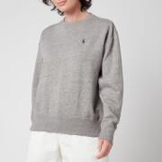Polo Ralph Lauren Women's Logo Fleece Sweatshirt - Dark Vintage Heather