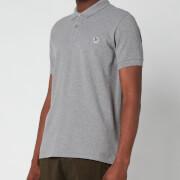 PS Paul Smith Men's Slim Fit Zebra Logo Polo Shirt - Melange