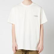Wooyoungmi Men's Basic Back Logo T-Shirt - White/Ivory