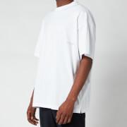 Wooyoungmi Men's Flowers Logo T-Shirt - White
