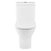 Falcon Rimless Back To Wall Close Coupled Toilet