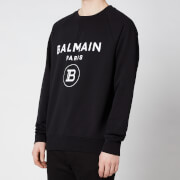 Balmain Men's Printed Sweatshirt - Black